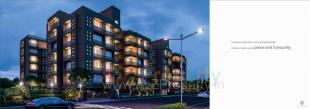 Elevation of real estate project Avadh Dreamland located at Sola, Ahmedabad, Gujarat