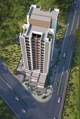 Elevation of real estate project Binori Mable located at Vejalpur, Ahmedabad, Gujarat