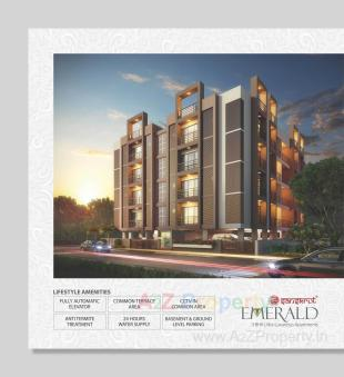 Elevation of real estate project Emerald Ament located at Vejalpur, Ahmedabad, Gujarat