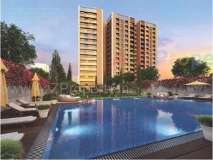 Elevation of real estate project Le Jardin located at City, Ahmedabad, Gujarat