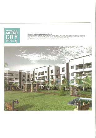 Elevation of real estate project Parshwanath Metrocity 4 located at Chandkheda, Ahmedabad, Gujarat