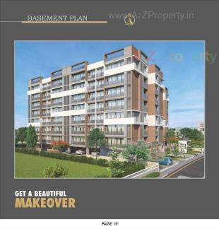 Elevation of real estate project Sharnam Heights located at Kathwada, Ahmedabad, Gujarat