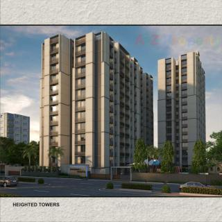 Elevation of real estate project Shashwat Heights located at Ahmedabad, Ahmedabad, Gujarat
