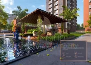 Elevation of real estate project Siddharth Luxuria located at Ahmedabad, Ahmedabad, Gujarat