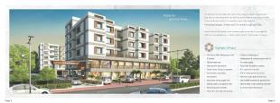 Elevation of real estate project Aangan located at Jambuva, Vadodara, Gujarat