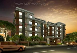 Elevation of real estate project Aashray Residency located at Danteshwar, Vadodara, Gujarat