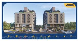 Elevation of real estate project Aatmiya Signature located at Bhayali, Vadodara, Gujarat