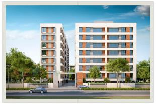Elevation of real estate project Aditya Aspire located at Tandalja, Vadodara, Gujarat