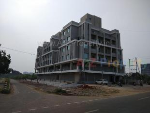 Elevation of real estate project Anand Exotica located at Sevasi, Vadodara, Gujarat