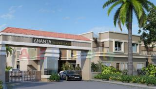 Elevation of real estate project Ananta Shubhlabh located at Khatamba, Vadodara, Gujarat