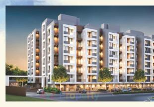 Elevation of real estate project Auro Residency located at Bill, Vadodara, Gujarat