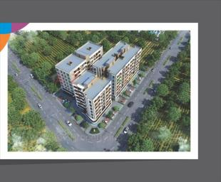 Elevation of real estate project Avadh Heights located at Sevasi, Vadodara, Gujarat
