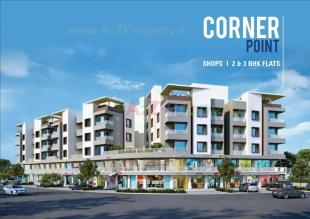 Elevation of real estate project Corner Point located at Gorva, Vadodara, Gujarat