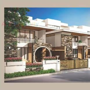 Elevation of real estate project Darshanam Celestial located at Bhayli, Vadodara, Gujarat
