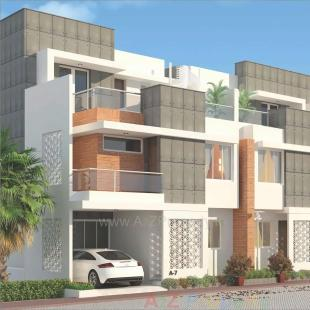 Elevation of real estate project Divine Green located at Harni, Vadodara, Gujarat