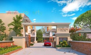 Elevation of real estate project Dream Palms located at Kalali, Vadodara, Gujarat