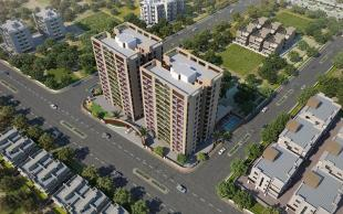 Elevation of real estate project Empire Flora located at Savli, Vadodara, Gujarat