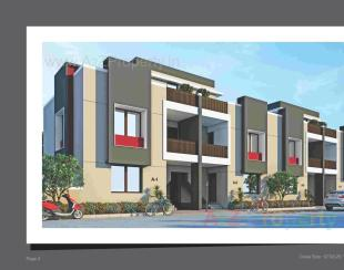 Elevation of real estate project Ganga Parvati Duplex located at Gotri, Vadodara, Gujarat