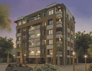 Elevation of real estate project Gokuldham Residency located at Undera, Vadodara, Gujarat