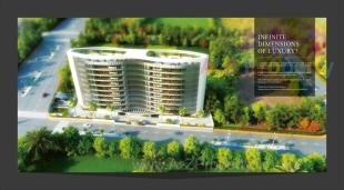 Elevation of real estate project Greenwoods Infinity located at Khanpur, Vadodara, Gujarat