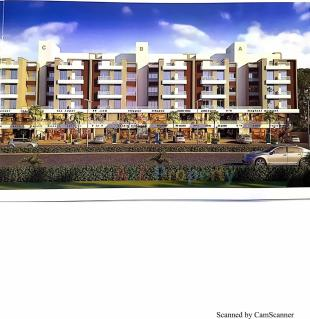 Elevation of real estate project Indra Heritage located at Gorva, Vadodara, Gujarat