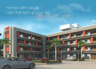 Elevation of real estate project Lakshmi Avenue located at Waghodia, Vadodara, Gujarat