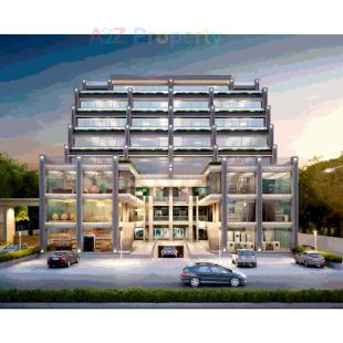 Elevation of real estate project Landmark Prime located at Tandalja, Vadodara, Gujarat