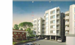 Elevation of real estate project Maadhav Elite located at Bhayli, Vadodara, Gujarat