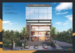 Elevation of real estate project Madhu's Icon located at Gotri, Vadodara, Gujarat