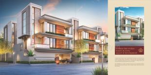 Elevation of real estate project Maple Homes located at Gotri, Vadodara, Gujarat