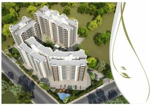 Elevation of real estate project Narayan Aura located at Atladara, Vadodara, Gujarat