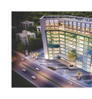 Elevation of real estate project Neptune Edge located at Subhanpura, Vadodara, Gujarat