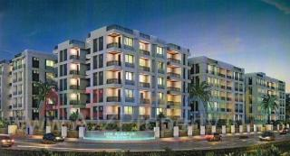 Elevation of real estate project New Alkapuri Residency located at Gotri, Vadodara, Gujarat