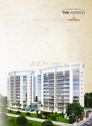 Elevation of real estate project Northway The Address located at Kasba, Vadodara, Gujarat