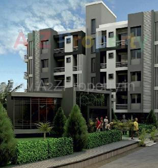 Elevation of real estate project Om Residency located at Kapurai, Vadodara, Gujarat