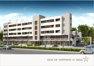 Elevation of real estate project Ornate Townsville located at Jambuva, Vadodara, Gujarat