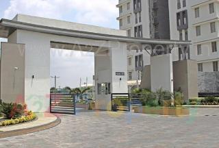 Elevation of real estate project Pratham Bluets  4 located at Gotri, Vadodara, Gujarat