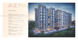 Elevation of real estate project Ratnam Oasis located at Bapod, Vadodara, Gujarat