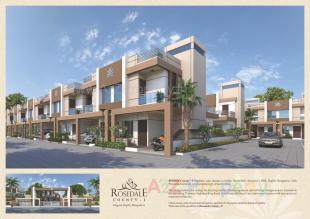 Elevation of real estate project Rosedale County   1 located at Dhanyavi, Vadodara, Gujarat