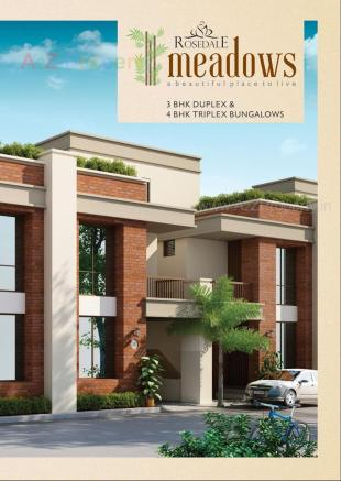 Elevation of real estate project Rosedale Meadows located at Sevasi, Vadodara, Gujarat