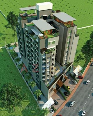 Elevation of real estate project Royal Arc located at Kasba, Vadodara, Gujarat