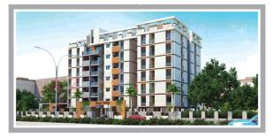 Elevation of real estate project Royal Edifice located at Gotri, Vadodara, Gujarat