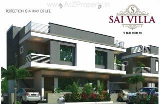 Elevation of real estate project Sai Villa located at Tarsali, Vadodara, Gujarat