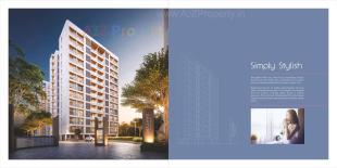 Elevation of real estate project Samanvay Saatvik located at Kalali, Vadodara, Gujarat