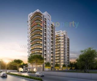 Elevation of real estate project Samanvay Sapphire located at Vemali, Vadodara, Gujarat