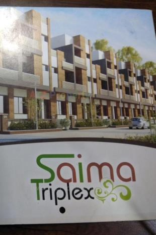 Elevation of real estate project Sayma Triplex located at Vadodara, Vadodara, Gujarat
