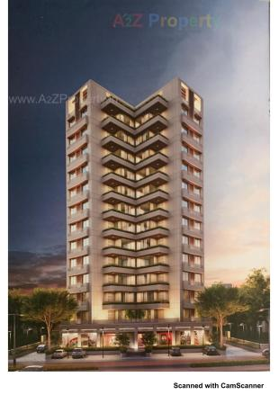 Elevation of real estate project Serene Edifice located at Harni, Vadodara, Gujarat