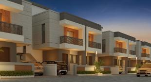 Elevation of real estate project Shivaay Bunglows located at Karodia, Vadodara, Gujarat