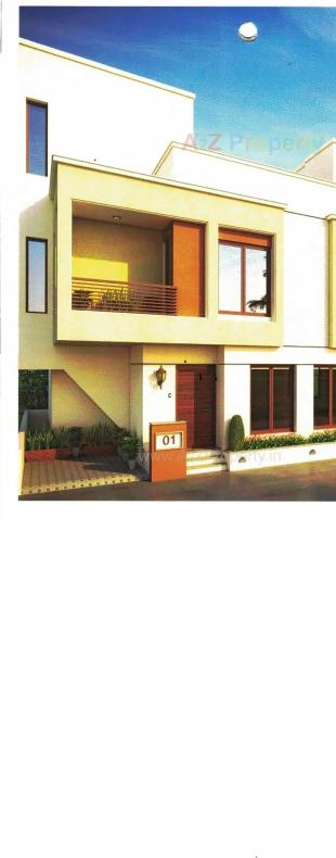 Elevation of real estate project Shivalik Bunglows located at Khatamba, Vadodara, Gujarat