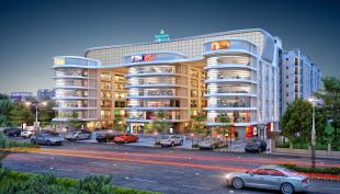 Elevation of real estate project Shree Siddheshwar Paradise located at Harni, Vadodara, Gujarat
